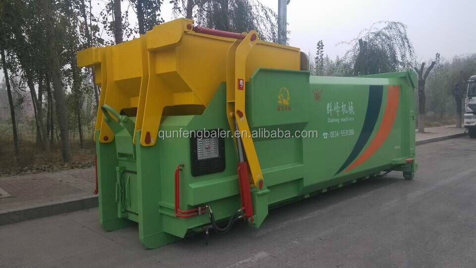 hydraulic underground garbage bin Intelligent Solar Garbage Transfer Bin <strong>Waste</strong> bins/rubbish bin/trash box