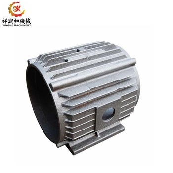 High quality OEM metal sand manufacturers for casting aluminum motor frame for body parts