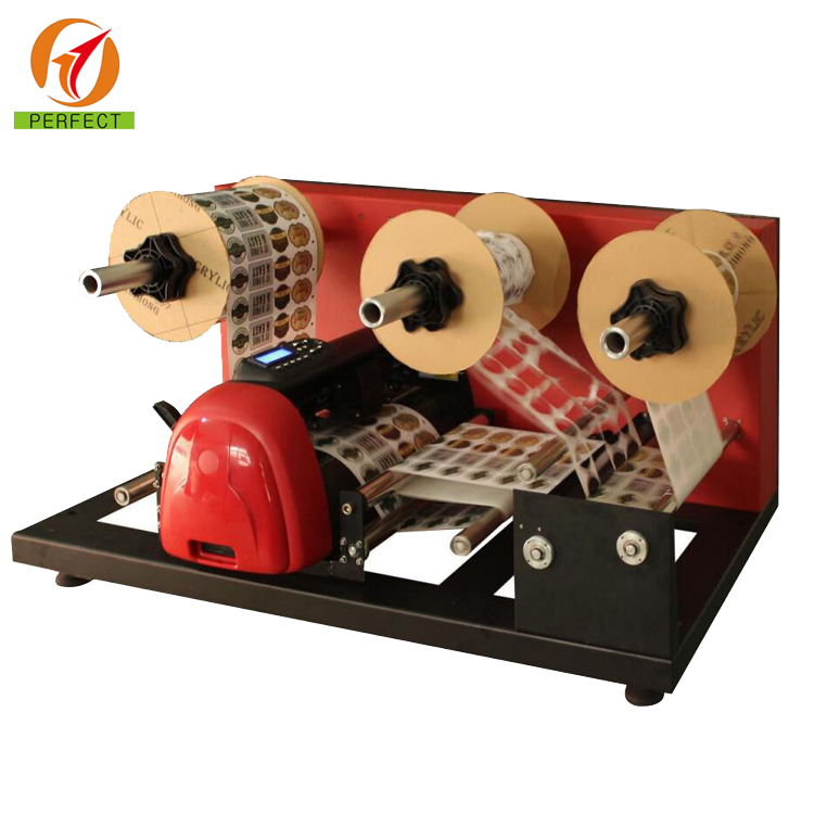 Digital Electric Roll to Roll Rotary Label Die Cutter / Label Die Cutting Machine