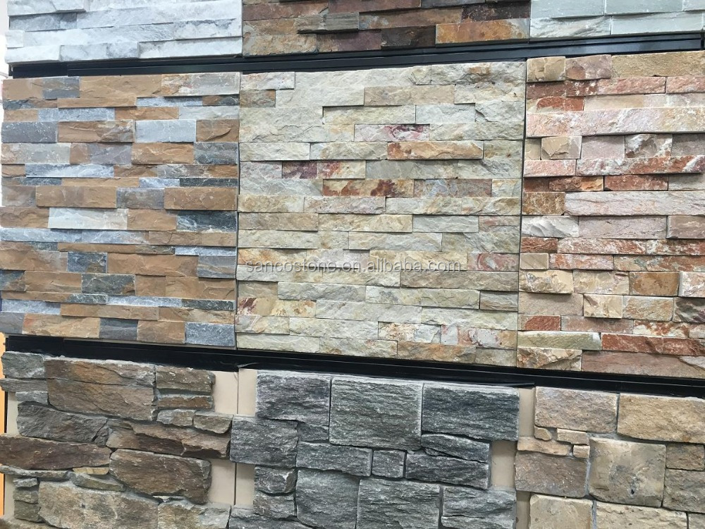 interior decoration natural Culture Stone granite wall stone