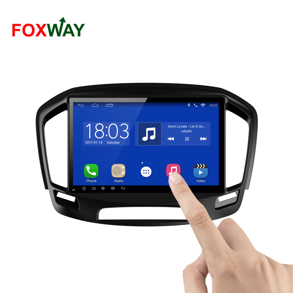 FOXWAY factory android car dvd player for Buick Regal with audio radio multimedia gps navigation system
