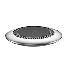 Baseus 10W Metal Qi Wireless Charger Fast Desktop Wireless Charging Pad for iPhone 8 X Samsung Galaxy S9 S8 Plus