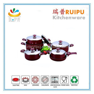 Porcelain Enameled,Carbon Steel enamel Material and FDA,LFGB,SGS Certification Disposable Cooking Pot Pro ware cookware