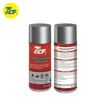 High Quality Silver Coating Paint Cold Galvanizing Zinc Aerosol Lubricant  Spray - Buy Zinc Spray Coating,Aerosol Lubricant Spray,Cold Galvanizing  Zinc