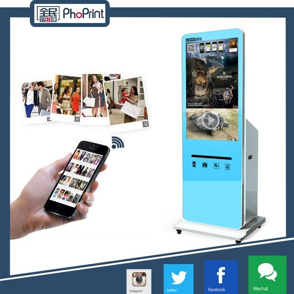 consumer electronic Innovation 42 inch free standing lcd network wifi unique advertising products