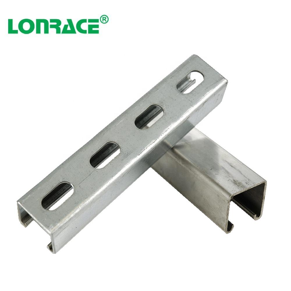 Galvanized Steel Slotted Strut C Channel