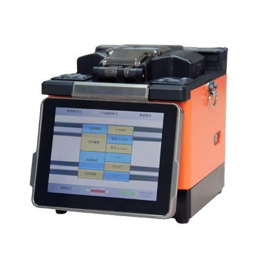 Cellphones & Telecommunications Cable Fusion Splicer Mfs-t60 With Fiber Cleaver Ftth Sm Mm Fiber Optic Equipments