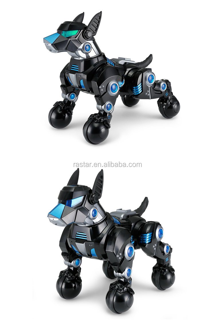 Rastar children toys radio control walking robot dog