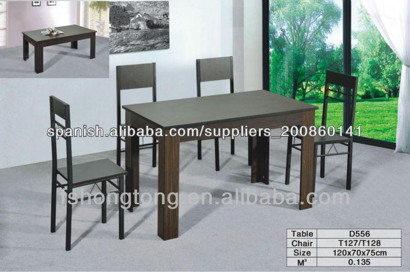 Mesa Asia Laqueada Comedor Cuadrada Moderna Madera-Mesas de madera ...