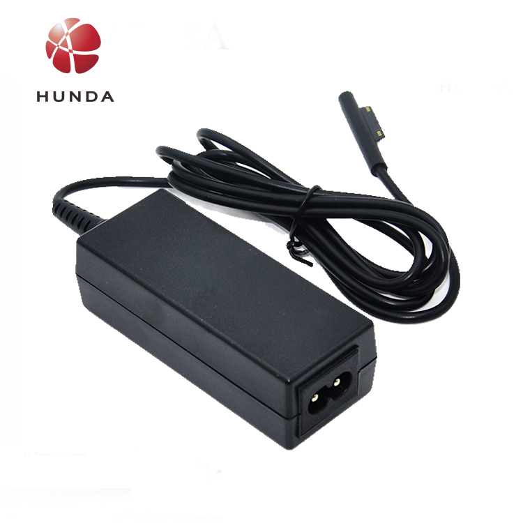 2prongs Desktop AC Charger 12V 2.58A Power Supply AC Adapter for Surface Pro 3 Tablet PC