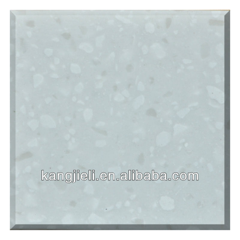 white artificial granite stone dining table tops price