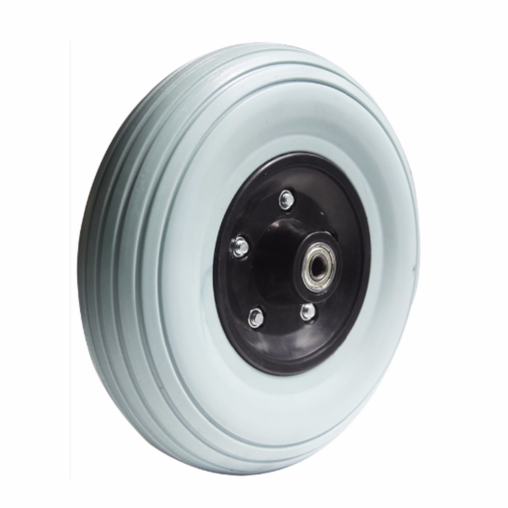 Small Pu Foam kids stroller wheel for tricycle