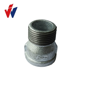 Best price hot dipped galvanized Malleable Iron Pipe Fitting made in China