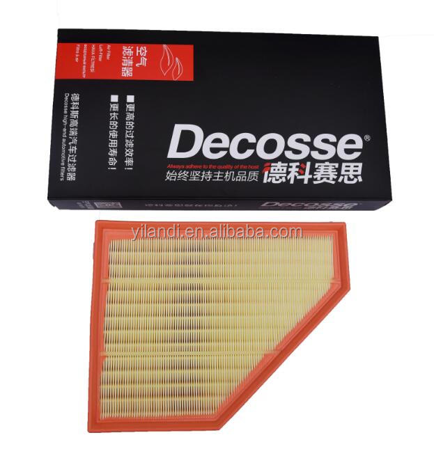 High performance spare auto parts car air filter 13717797465