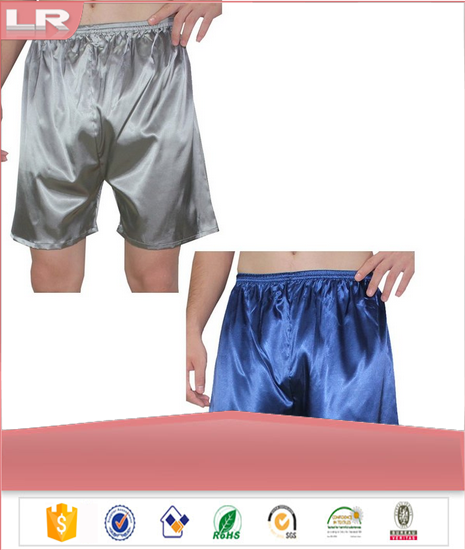 High Quality Men's Silk Sleepwear Pajama Pants With All Size