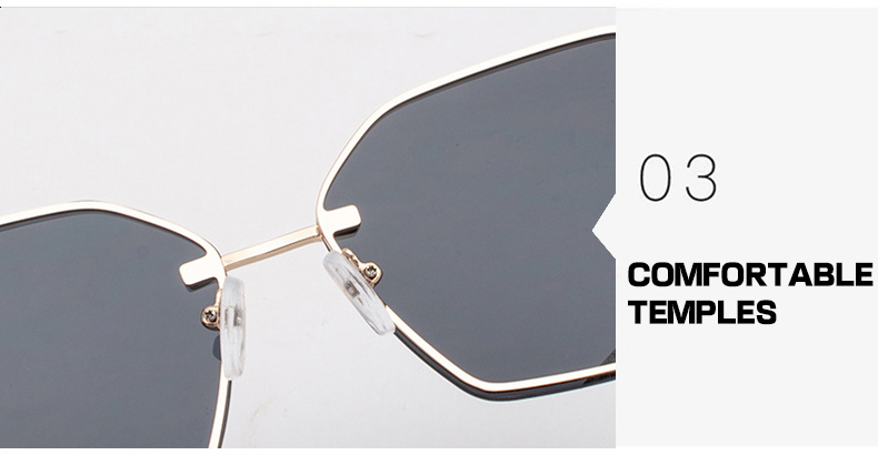 Fuqian Latest large frame womens sunglasses customized for racing-9