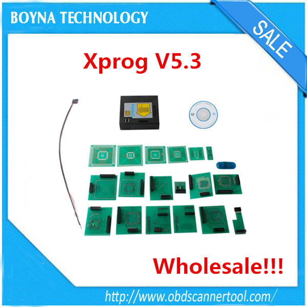 2015 Latest version XPROG ECU Programmer update version of XPROG-M V5.3 Plus With Dongle Easy to install