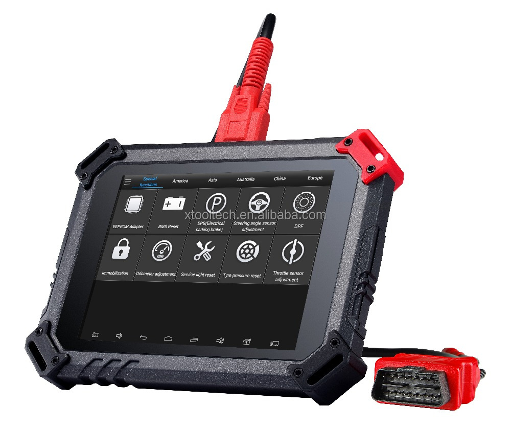 100% Original XTOOL PS80 Diagnostic Tool Car Code Scanner Android 4.4 Tablet Same as PS90