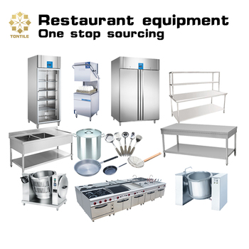 Professional Restaurant Kitchen Equipment ( Tontile -- Hotel Supplies One-stop Souring Base )