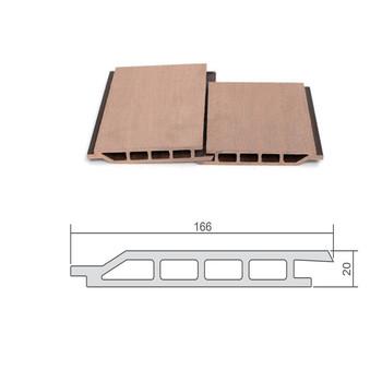 166 20mm Einfache Installation Und Umweltfreundliche Wpc Laminat