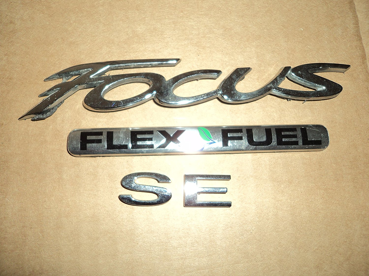 Cheap Ford Flex Fuel Find Deals On Line At Alibabacom 2012 Gmc Terrain Filter Get Quotations Focus Se Used Emblem Trunk Oem Chrome Badge Sign Logo Symbol Set