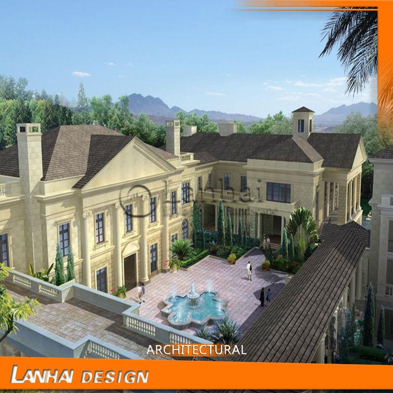 Beautiful Philippine Apartment House 3d Elevation Design