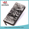 Designer Snake skin clutch bag , women zipper leather wallet for snake skin