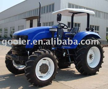 DQ804 farm tractor with rops u0026 canopy big tractor 4WD & Dq804 Farm Tractor With Rops u0026 CanopyBig Tractor 4wd - Buy 80hp ...