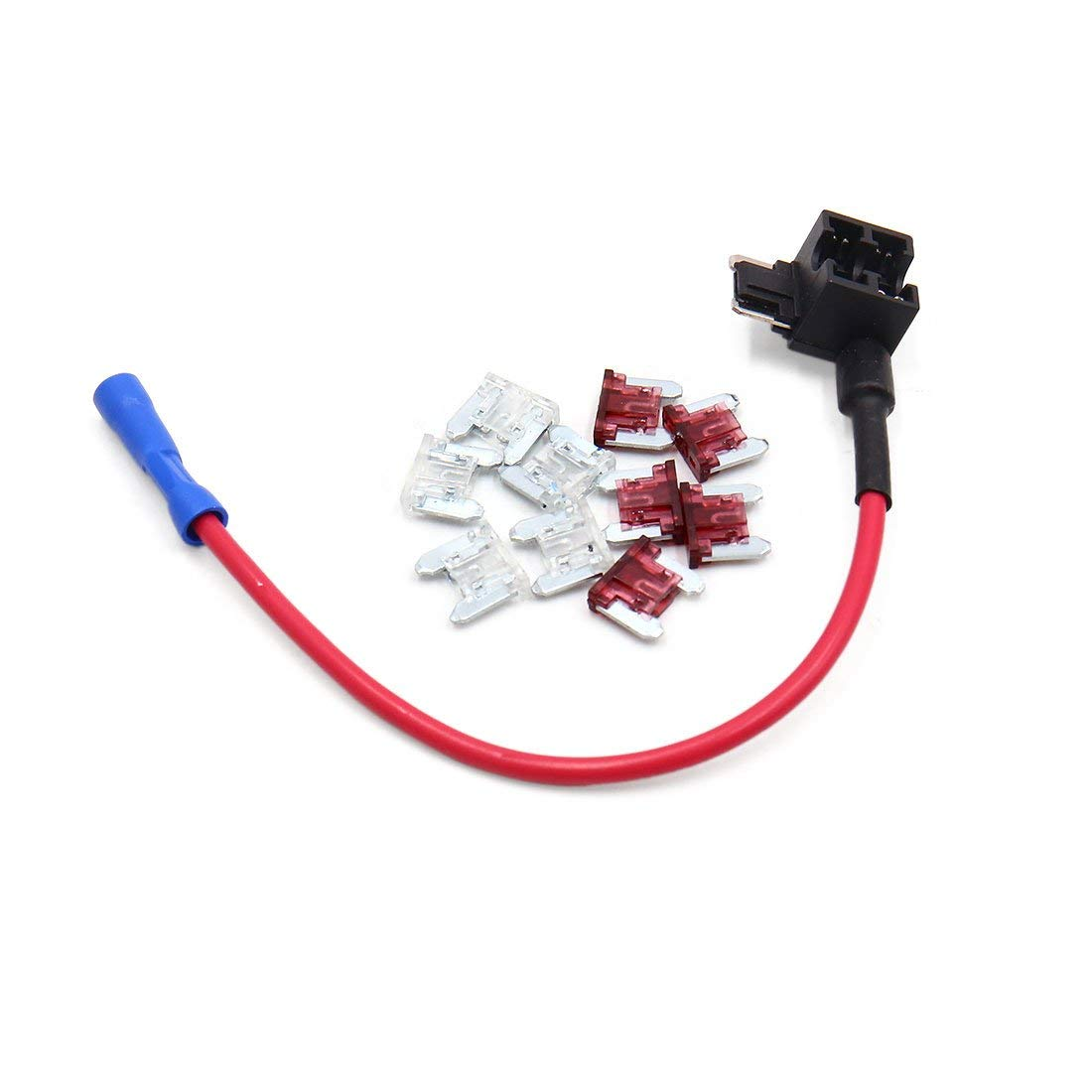 Cheap Car Fuse Tap Find Deals On Line At Alibabacom Add A Circuit Piggyback Buy Mini Get Quotations Uxcell Standard 25a 40a Low Profile Blade Style
