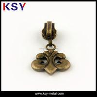 Custom design fancy zipper pulls for sale