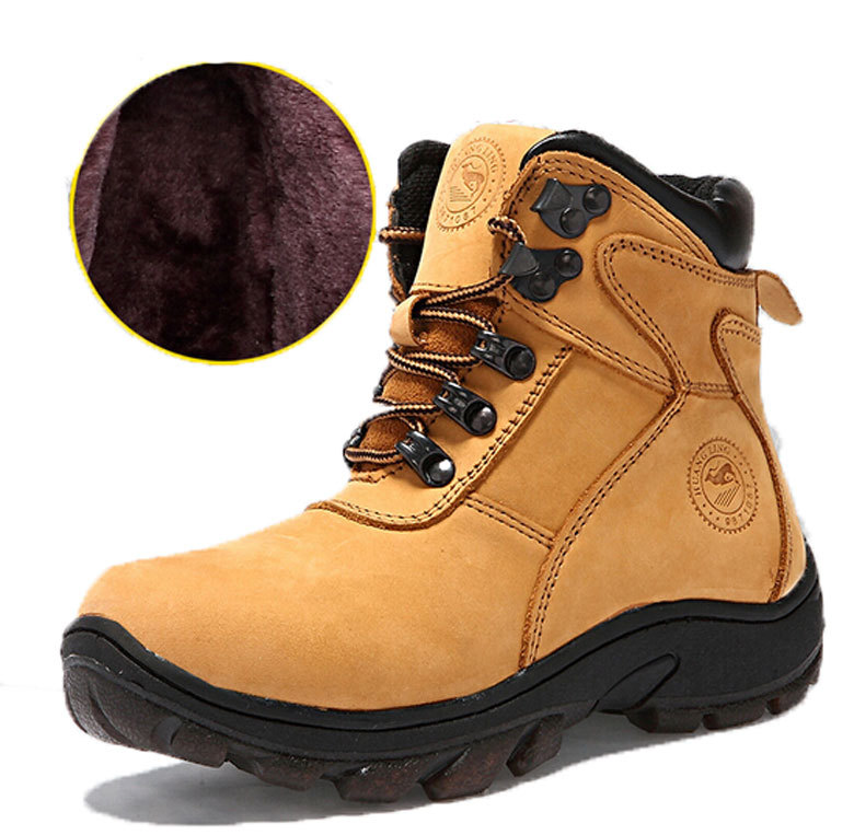 7b86011ac5 Get Quotations · HOT SALE !! 100% children genuine leather boots Children  winter boots boys snow boots