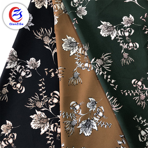 best selling polyester shiny stretch satin fabric for fashion garments