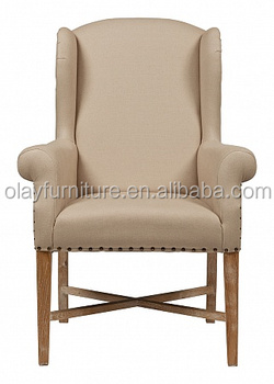 Classic antique wooden wing back chairs high back french wing chair  sc 1 st  Alibaba & Classic Antique Wooden Wing Back ChairsHigh Back French Wing Chair ...