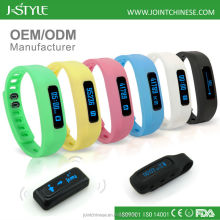 New coming ODM/OEM bluetooth 4.0 fitness bracelet bluetooth wristband pedometer activity tracker fit bit
