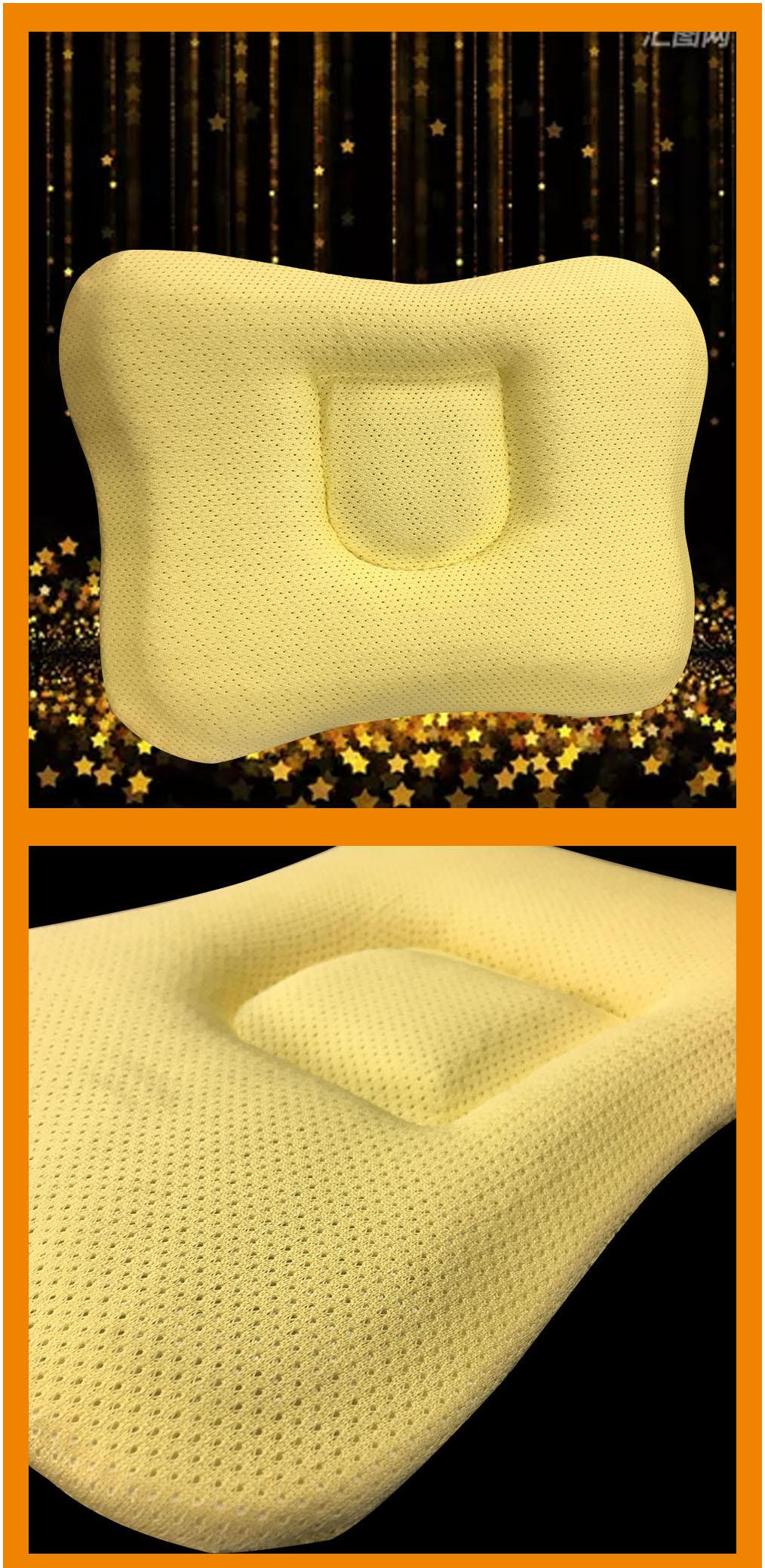 Adjustable washable 3d air mesh fabric nursing sleep newborn head shaping pillow baby head protection pillow