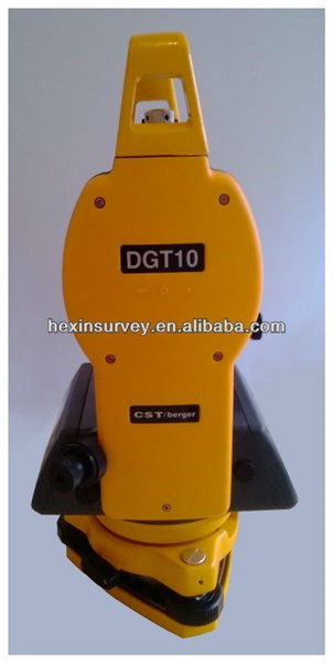 High Quality CST berger DGT10 Theodolite Price with Illumination