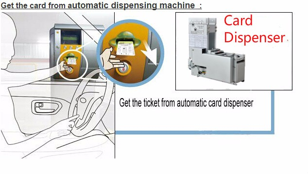 Card Collector Tcr 615 Rfid Card Access Control For Car Parking ...