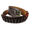 12GA genuine Leather ammo shell holder cartridge belt hunting gun accessories