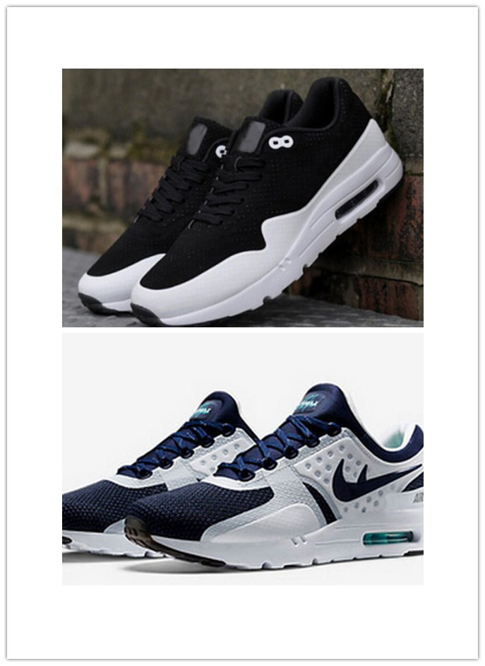 official photos f3f7f addba Get Quotations · 2015 Air Free Shipping New Design Zero Max shoes Men Women sneakers  Shoes max 87 OREO 2