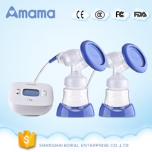 Best price online PP silicone battery operated new dual double automatic electric breast pump