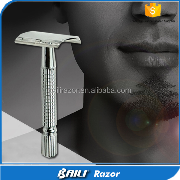 Free Sample Platinum Blade Double Edge Safety Razor Shaving