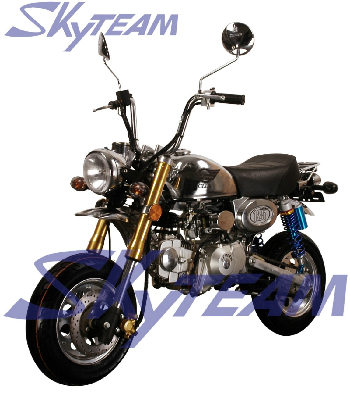 skyteam 125cc 4 temps singe le mans pro moto cee euroiii. Black Bedroom Furniture Sets. Home Design Ideas