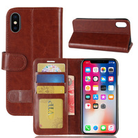 Best selling items mobile phone case for iphone, 2 in 1 wallet leather case for iPhone X,mobile phone accessories