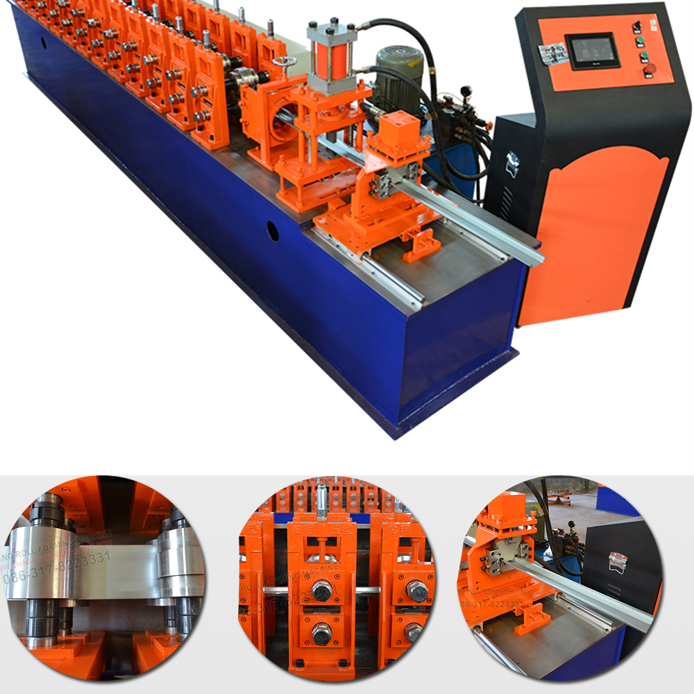 Automatic Steel Omega Panel Profile Light Gauge Steel Keel Roll Forming Making Machine