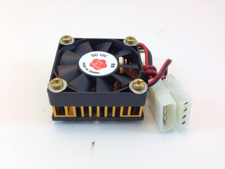 AAVID CPU COOLING FAN W/ HEATSINK, 50mm Sq. FAN, 50mm X 50mm X 30mm Heatsink & Fan, TX3 3PIN CONNECTOR