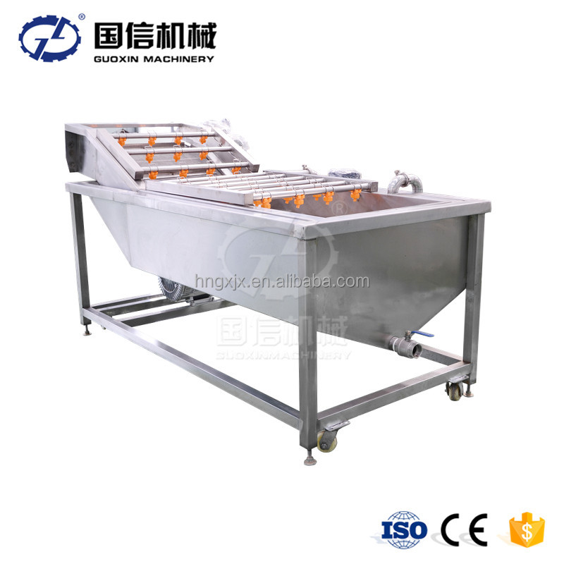 stainless steel apple/pear/mango/fruit/vegetable washing/cleaning/processing machine/equipment