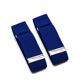 Fashion navy bule Unisex Elastic Arm Bands Wedding Party Shirt Sleeve Holder Garter with adjustable alloy buckle