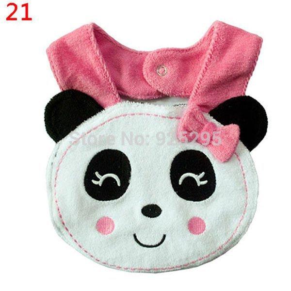 Infant Bibs NO 21 40 Baby Bibs Burp Cloths Lunch Bibs Animals Cotton Waterproof Infant Bibs