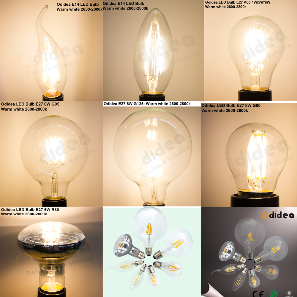 bombilla e27 a60 edison style filament bulb led ampoule. Black Bedroom Furniture Sets. Home Design Ideas