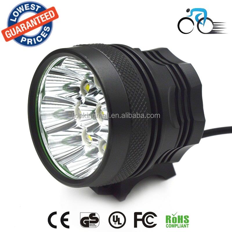 Wholesale 13000LM 8 X xml u2 LED Bicycle Light Headlamp Bright LED ...